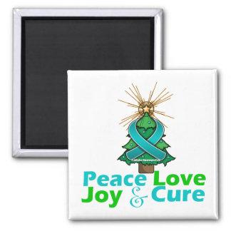 PKD Peace Love Joy Cure Magnets