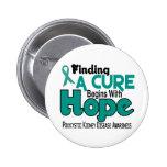 PKD Polycystic Kidney Disease HOPE 5 Pin