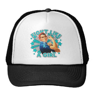PKD Vintage Rosie Fight Like A Girl Trucker Hat