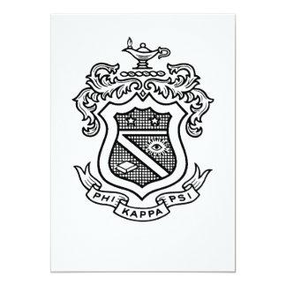 PKP Crest Black Card