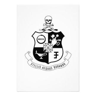PKS Crest Personalized Announcements