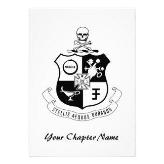 PKS Crest Personalized Announcement