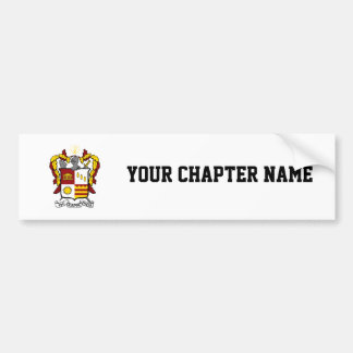 PKT Crest Color Bumper Sticker