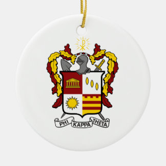 PKT Crest Color Christmas Ornament