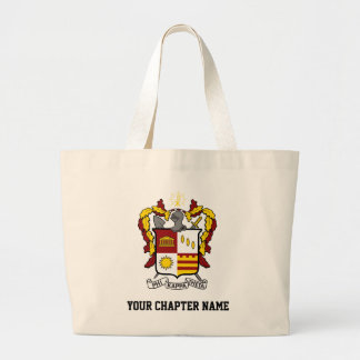 PKT Crest Color Large Tote Bag