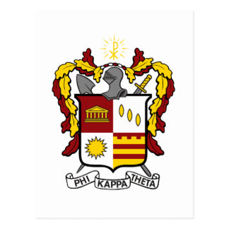 PKT Crest Color Postcard