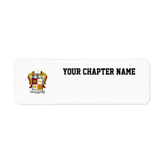 PKT Crest Color Return Address Label