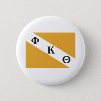 PKT Flag 6 Cm Round Badge
