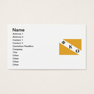 PKT Flag Business Card