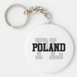 PL Poland Key Ring