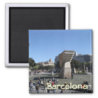Plaça Catalunya, Barcelona Fridge Magnets