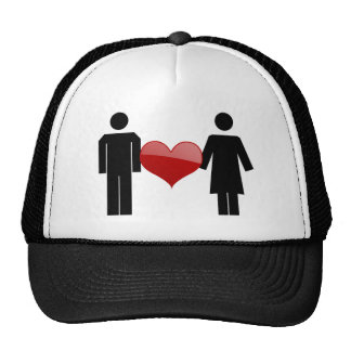 Placard Love Hat