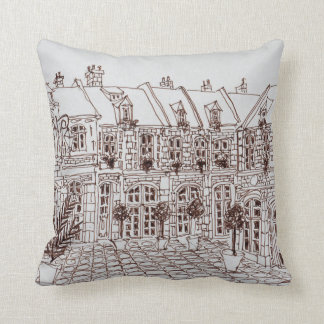 Place Aux Oignons, Old Town | Lille, France Cushion
