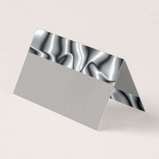 Place Card for Silver Metal Bar Mitzvah Collection