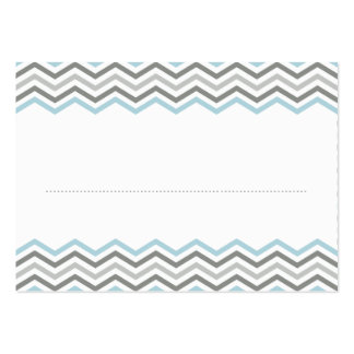 PLACE CARDS :: chevron1 3 Pack Of Chubby Business Cards