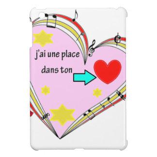 PLACE COEUR png Coques iPad Mini