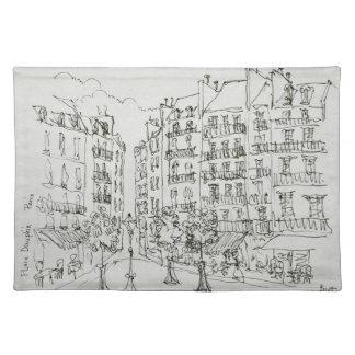 Place Dauphine, Ile de la Cite | Paris, France Placemat