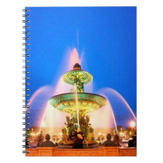 Place de la Concorde, Paris, France Spiral Notebook