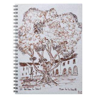 Place de la Liberte, Saint-Guilhem-le-Desert Notebook