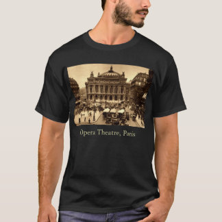 Place de l'Opera, Paris France c1925 Vintage T-Shirt