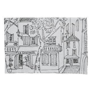 Place des Chataignes | Avignon, France Pillowcase