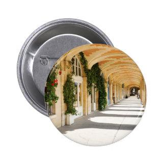 Place des Vosges in Paris, France 6 Cm Round Badge