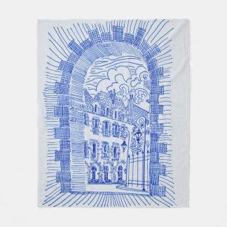 Place des Vosges | Marais, Paris, France Fleece Blanket