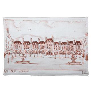 Place des Vosges | Marais, Paris Placemat