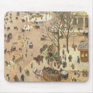 Place du Theatre Francais, 1898 Mousepads
