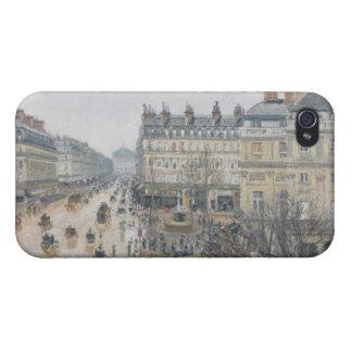 Place du Theatre Francais, Paris: Rain, 1898 iPhone 4/4S Covers