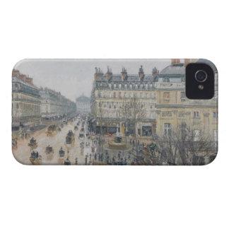 Place du Theatre Francais, Paris: Rain, 1898 iPhone 4 Case