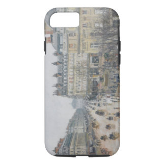 Place du Theatre Francais, Paris: Rain, 1898 iPhone 8/7 Case