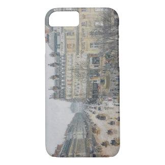 Place du Theatre Francais, Paris: Rain, 1898 iPhone 8/7 Case