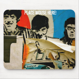 Place foams young stag! mouse mat