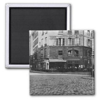 Place Gozlin, Paris c.1865 Square Magnet