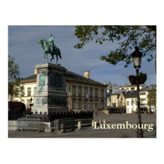 Place Guillaume II, Luxembourg Postcard