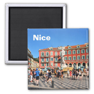 Place Massena in Nice, France Magnet
