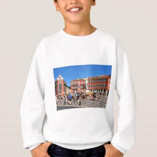 Place Massena in Nice, France Sweatshirt