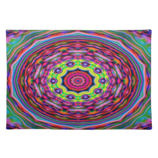 Place Mat - Multi-coloured Kaleidoscope