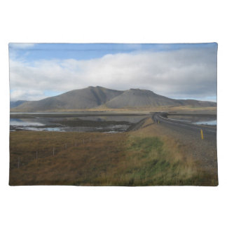Place-mat (Table-mat) With Icelandic Scenery Placemat