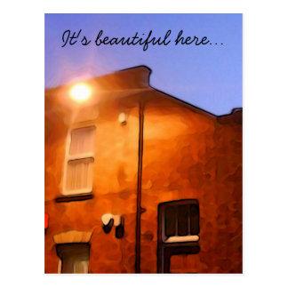 Place of beauty postcard