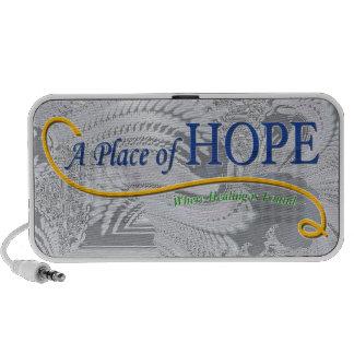 Place of Hope Logo Laptop Speaker
