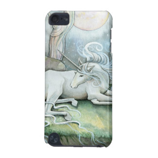 Place of Peace Watercolor Art Unicorn Fantasy iPod Touch 5G Covers