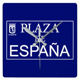 Place of Spain Clocks