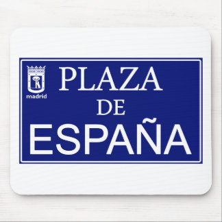 Place of Spain Mouse Mat