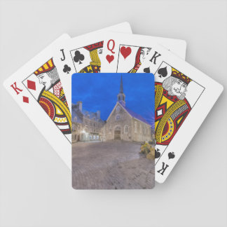 Place Royale at dawn Playing Cards
