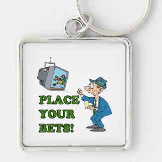Place Your Bets Key Chains