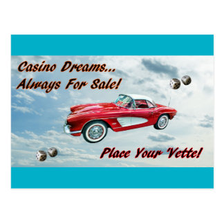 """""""Place Your 'Vette!"""" Post Cards"""