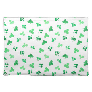 Placemat 20''x14'' with clover leaves