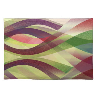 Placemat Abstract Background